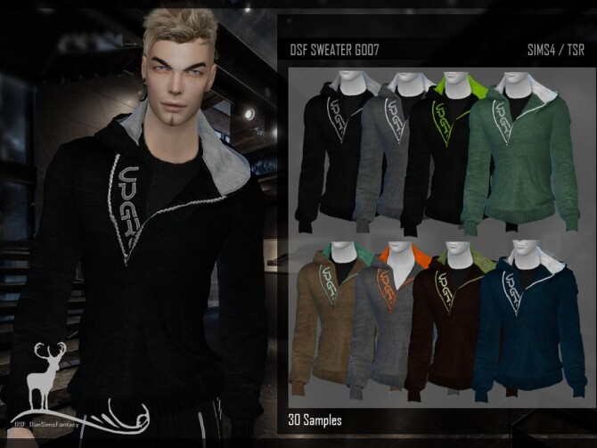 Sims 4 DSF SWEATER G007 by DanSimsFantasy at TSR