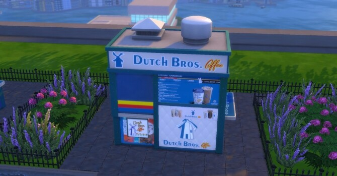 Dutch Bros Coffee Stand by ArLi1211 at Mod The Sims image 1576 670x349 Sims 4 Updates