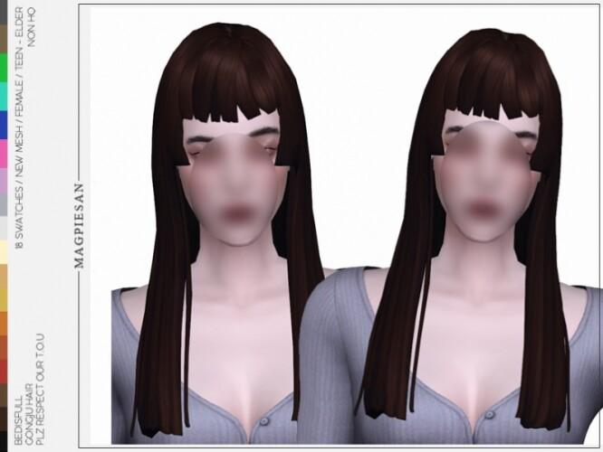 Gongju hair by magpiesan