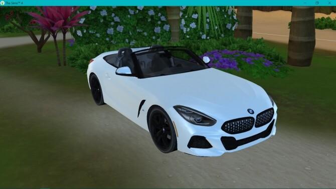 Sims 4 BMW Z4 at LorySims