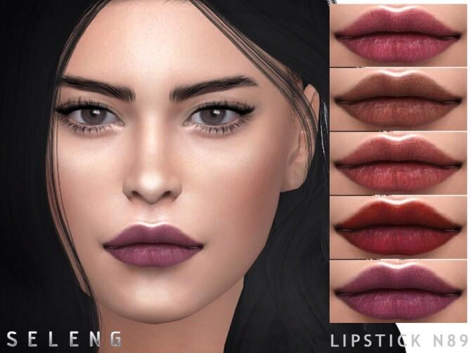 Sims 4 Lipstick N89 by Seleng at TSR
