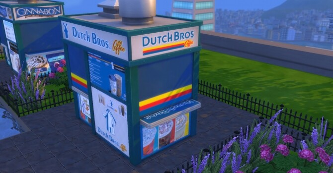 Dutch Bros Coffee Stand by ArLi1211 at Mod The Sims image 1587 670x349 Sims 4 Updates