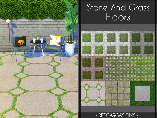 Stone And Grass Floors