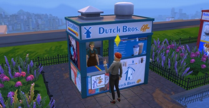 Dutch Bros Coffee Stand by ArLi1211 at Mod The Sims image 1597 670x349 Sims 4 Updates