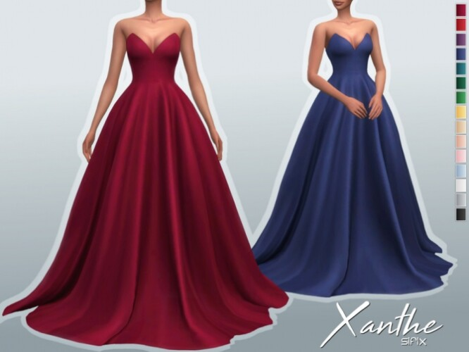 Xanthe Gown by Sifix