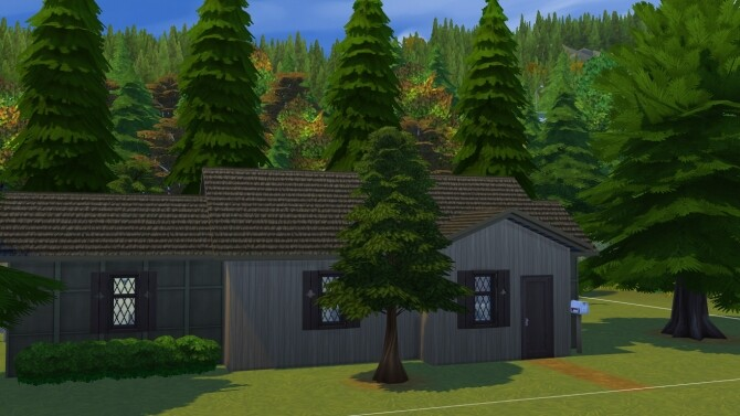 Sims 4 The decades challenge 1900s home by iSandor at Mod The Sims