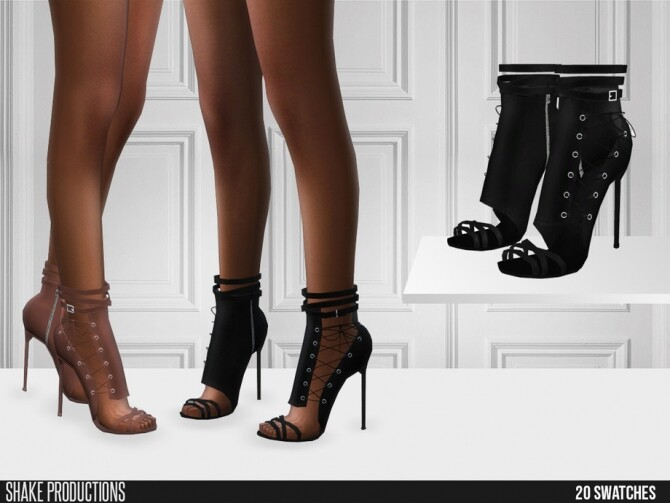 Sims 4 552 High Heels by ShakeProductions at TSR