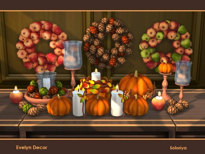 Evelyn Decor by soloriya at TSR image 1611 670x503 Sims 4 Updates