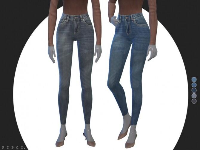 Sims 4 Horizon jeans by Pipco at TSR