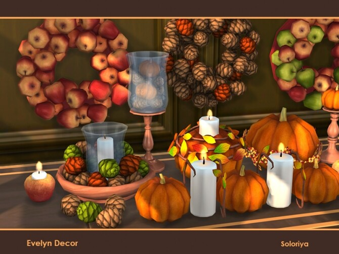 Evelyn Decor by soloriya at TSR image 1621 670x503 Sims 4 Updates