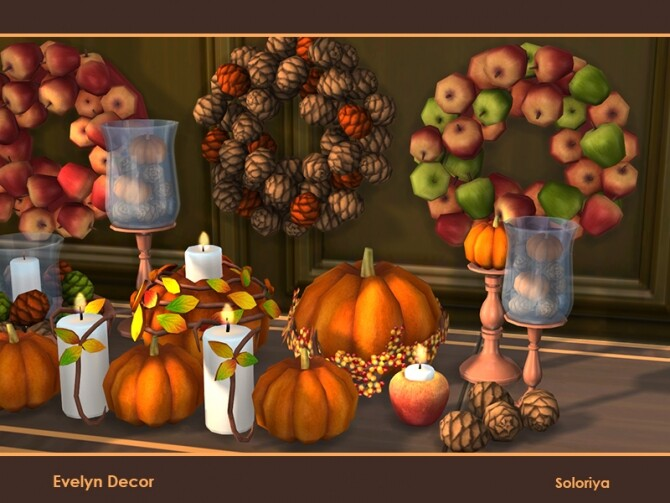 Evelyn Decor by soloriya at TSR image 1631 670x503 Sims 4 Updates