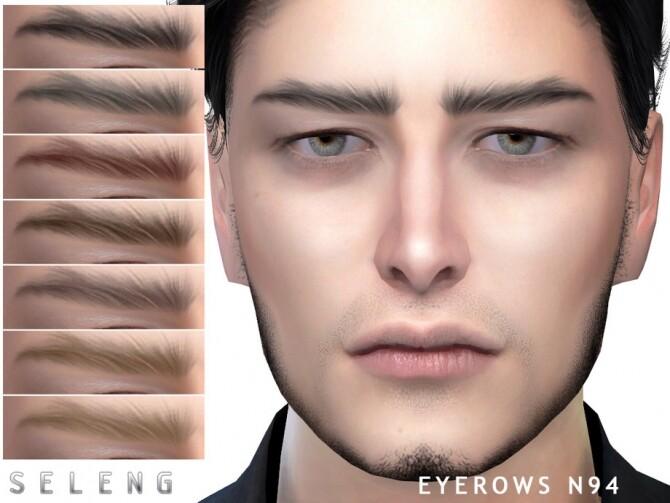 Sims 4 Eyebrows N94 by Seleng at TSR