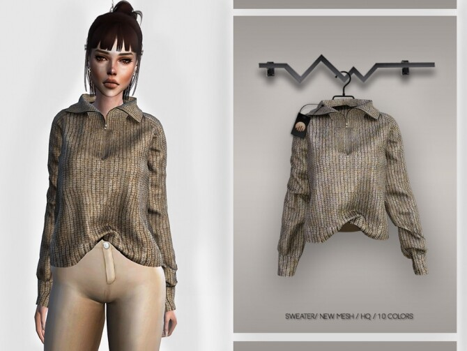 Sweater BD361 by busra tr at TSR image 1648 670x503 Sims 4 Updates