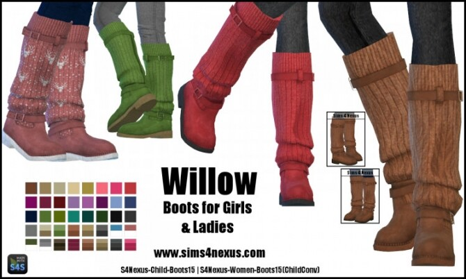 Willow boots by SamanthaGump