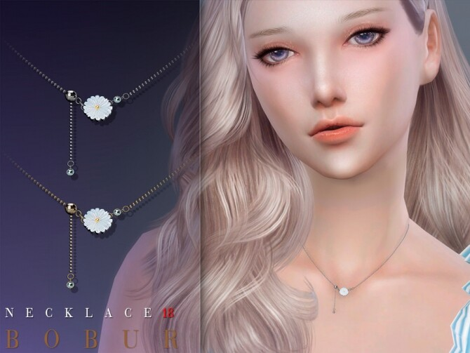 Sims 4 Necklace 18 by Bobur3 at TSR