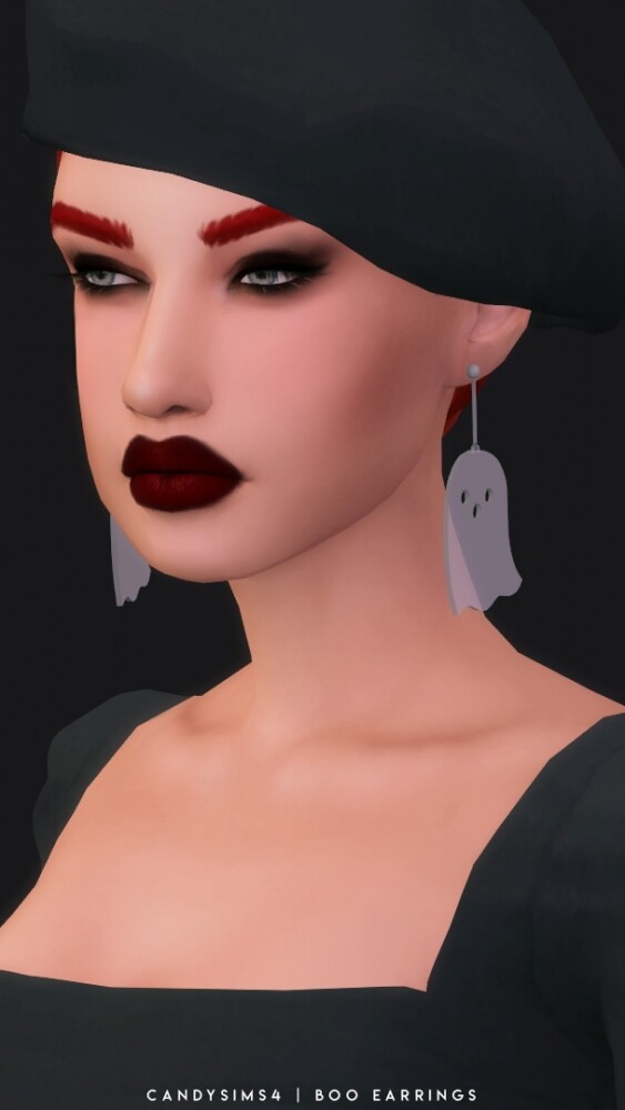 BOO EARRINGS at Candy Sims 4 image 1662 563x1000 Sims 4 Updates