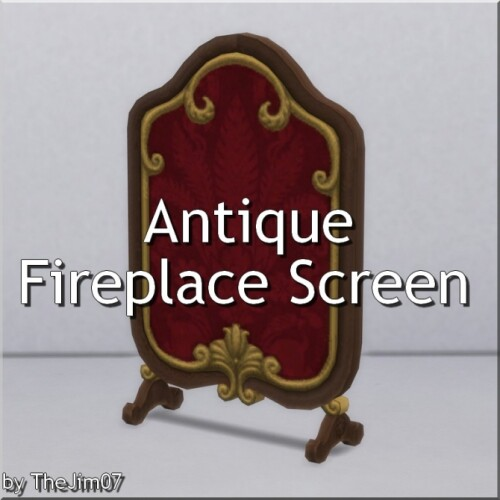 Antique Fireplace Screen by TheJim07