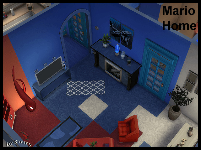 Sims 4 Mario Home by Simmy at Beauty Sims