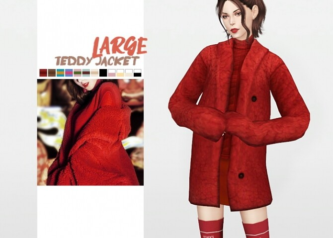 Large Teddy Jacket