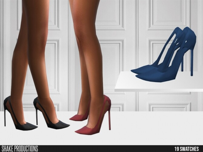Sims 4 567 High Heels by ShakeProductions at TSR