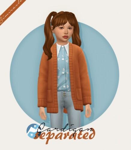 Cardigan Separated Kids Version