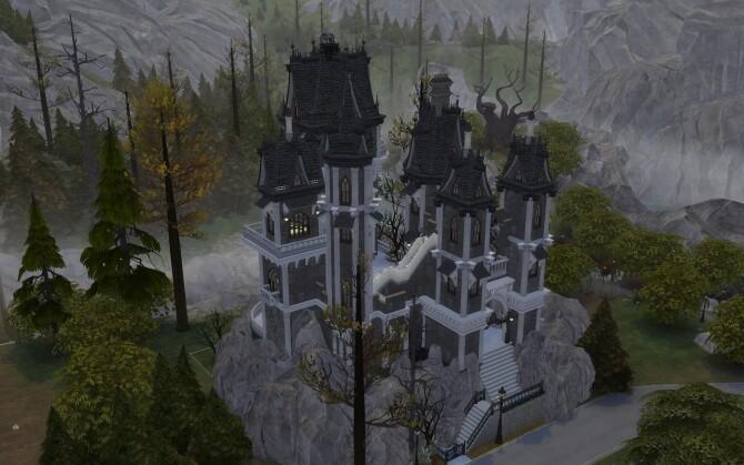 The Vampire Castle by alexiasi