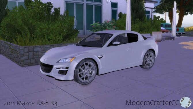 Sims 4 2011 Mazda RX 8 R3 at Modern Crafter CC