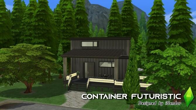 Container Futuristic NO CC by iSandor