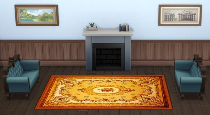 Aubusson First Rug Set by Wicked Old Witch