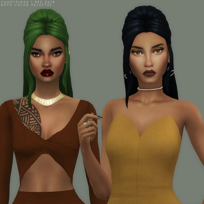 BEE HAIR at Candy Sims 4 image 1822 670x670 Sims 4 Updates