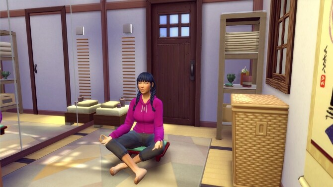 Kokedama Asian home by Angerouge at Studio Sims Creation image 1848 670x377 Sims 4 Updates