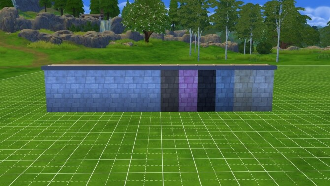 Sims 4 Get Ruins maxis match foundament recolor! by remysa at Mod The Sims