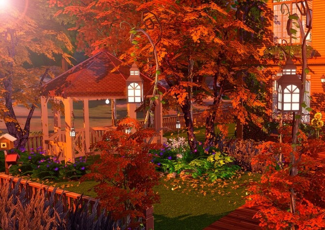 Sims 4 Autumn Cotage at Lily Sims