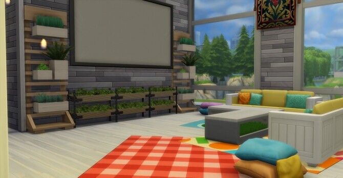 Sims 4 Kellys Baby Garden by EzzieValentine at TSR