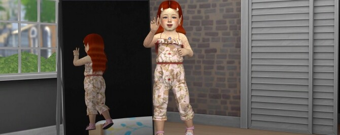 MARCELLE HAIR + KIDS AND TODDLER VERSION at REDHEADSIMS image 1932 670x266 Sims 4 Updates
