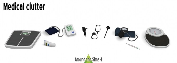 Medical clutter at Around the Sims 4 image 1952 670x240 Sims 4 Updates