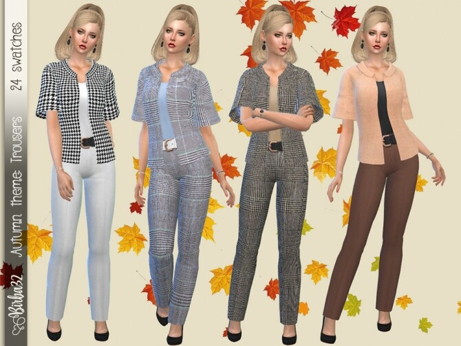 Autumn Trousers by Birba32 at TSR image 1953 670x503 Sims 4 Updates