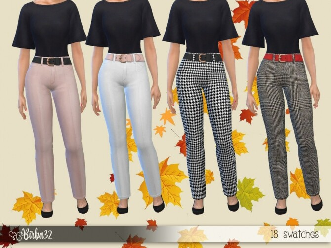 Autumn Trousers by Birba32 at TSR image 1964 670x503 Sims 4 Updates