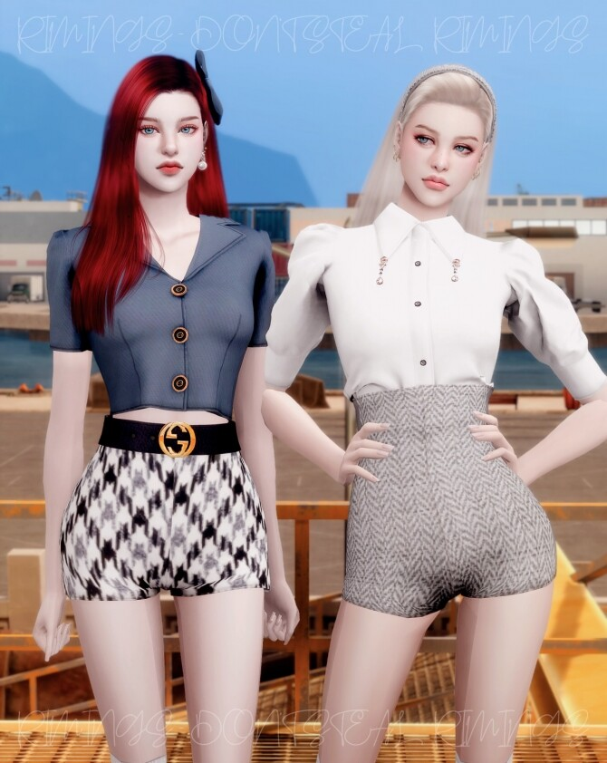 Sims 4 I CAN'T STOP ME OUTFIT at RIMINGs