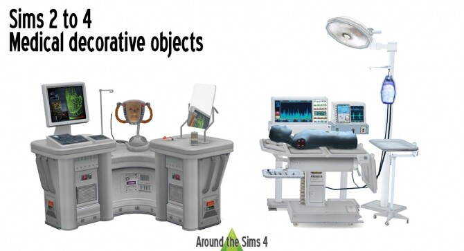 Medical clutter at Around the Sims 4 image 1973 670x363 Sims 4 Updates