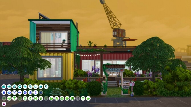 Sims 4 Eco Family Container Home at SimKat Builds