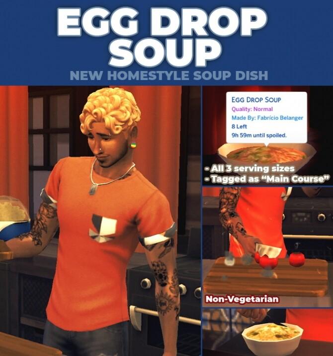Egg Drop Soup Custom Recipe by RobinKLocksley