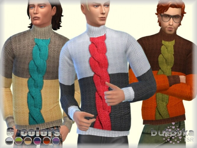 Sweater Color Block by bukovka