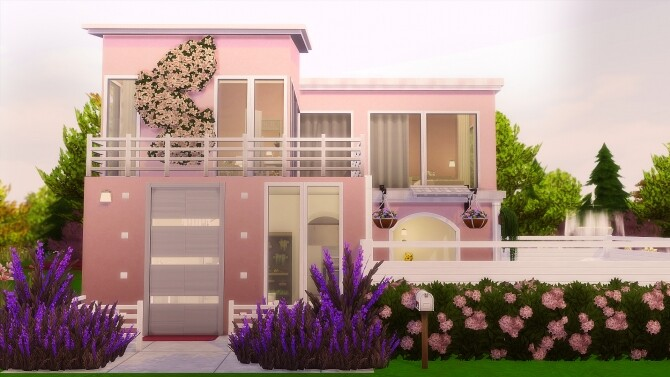 Sims 4 MIRACLE HOUSE at Nilyn Sims 4
