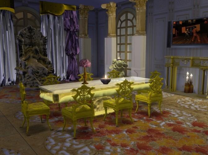 Sleeping Fairy Sands Dining Set