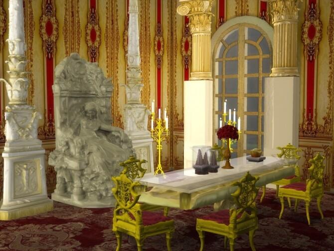 Sims 4 Sleeping Fairy & Sands Dining Set at Anna Quinn Stories
