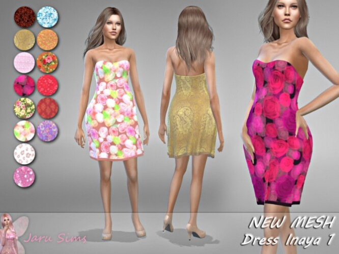 Dress Inaya 1 by Jaru Sims