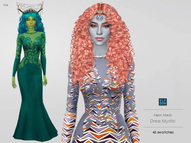 Dress Mystic 2 versions