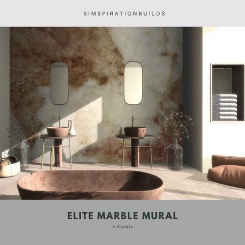 Elite Marble Mural