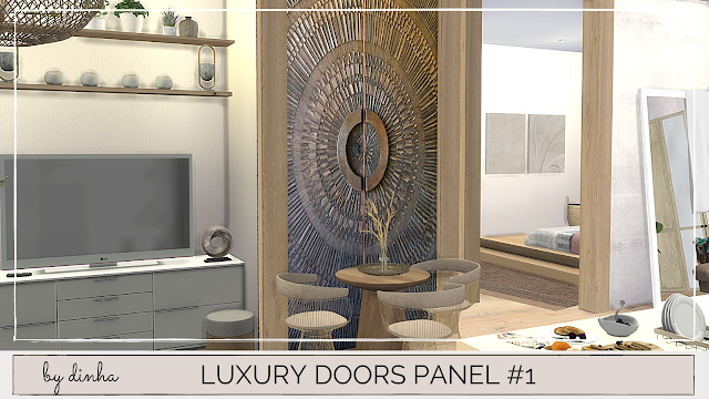 Luxury Doors Panel